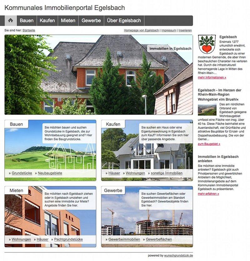 Kommunales Immobilienportal