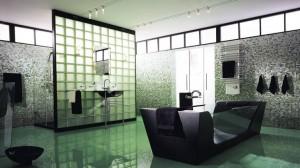 Raumteiler-Ideen mit Glasbausteinen